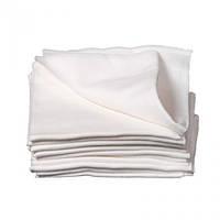 Кухонные вафельные полотенца белые75*35