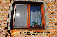 Окно деревянное. Сосна. www.vikno-dveri.com.ua
