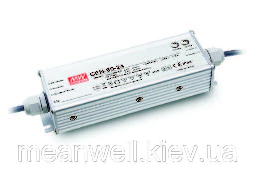 CEN-75-24 Блок питания Mean Well 75,6вт, 3,15А, 24в драйвер питания светодиодов LED IP66