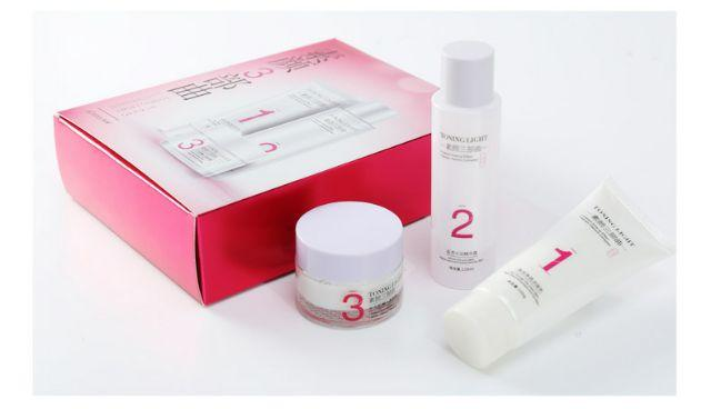 Hchana Deep Hydration 3 in 1 Skin Set