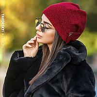 Шапка Yavorsky женская стильная с люрексом разные цвета Shy123, фото 1