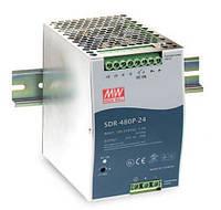 Блок питания Mean Well SDR-480P-48 В корпусе с ККМ 480 Вт, 48 В, 10 А (DC/AC Преобразователь)