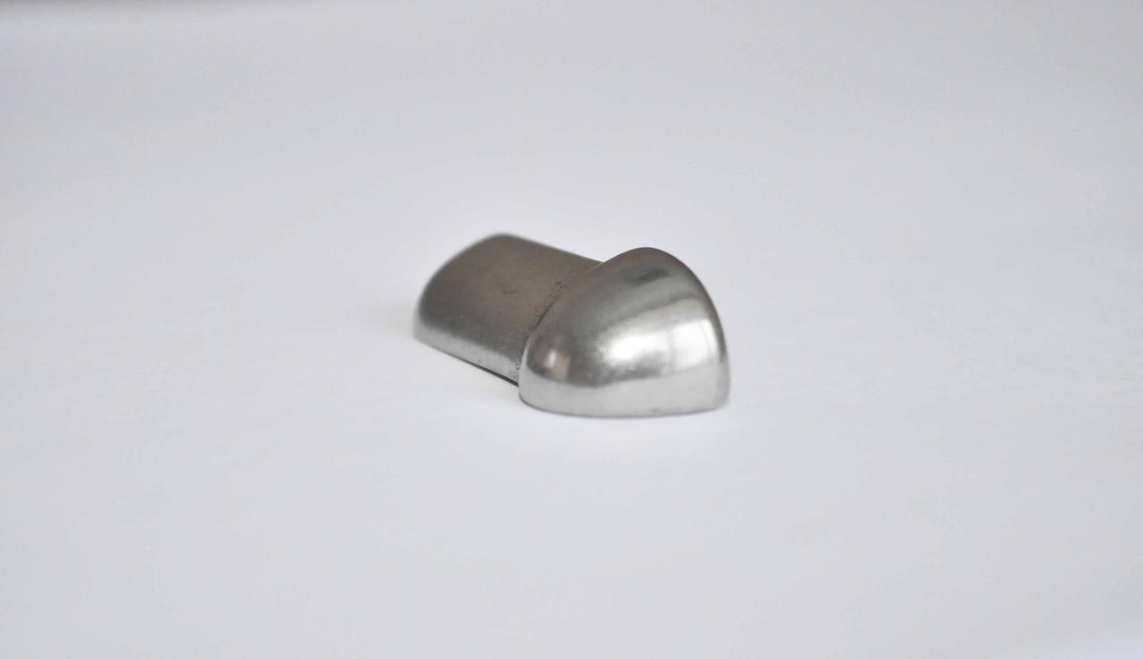 Заглушка Pawotex для профиля STR10 из нержавеющей стали