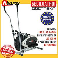 Механический Орбитрек (до 100 кг) эллиптический тренажёр для дома AbarQs OR-18