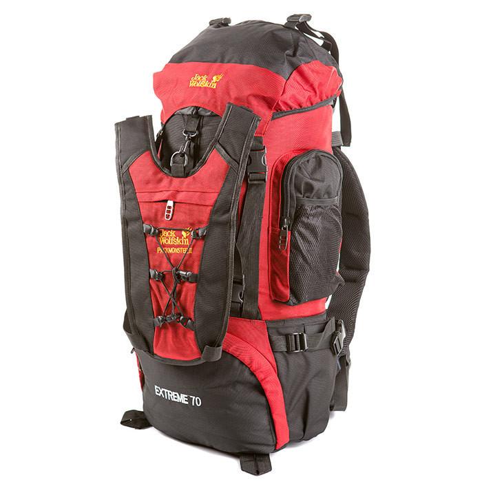 Туристический рюкзак Jack Wolfskin Extreme 70, красный