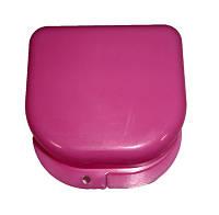 Коробка для ортодонтических и ортопедических констр. без отверстий розовая T-B-6