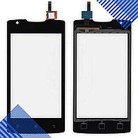 Тачскрин для телефона Lenovo A1000, цвет черный
