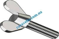 Винт барашек высокопрочная сталь DIN 316 немецкая форма