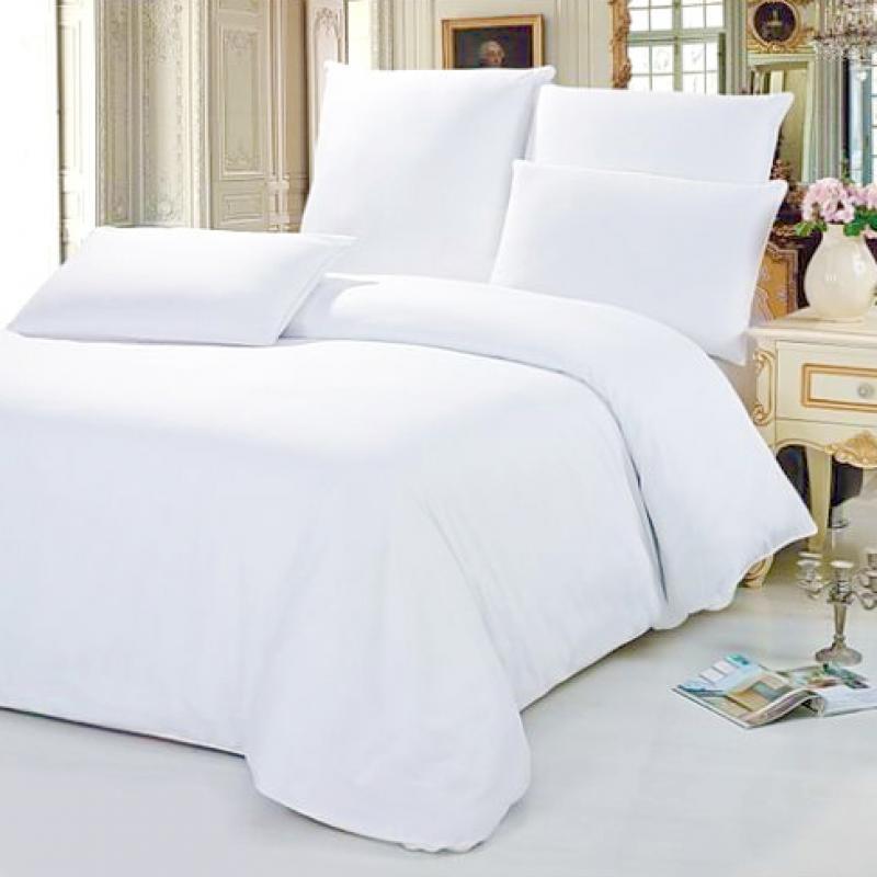 Комплект постельного белья Time Textile Белая бязь евро
