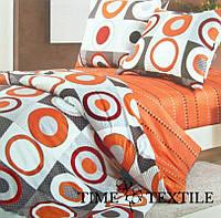 Комплект постельного белья из сатина Circles, фото 1