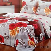 Комплект постельного белья из сатина Rose Garden, фото 1