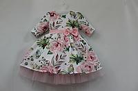 Нарядное платье на девочку № 36