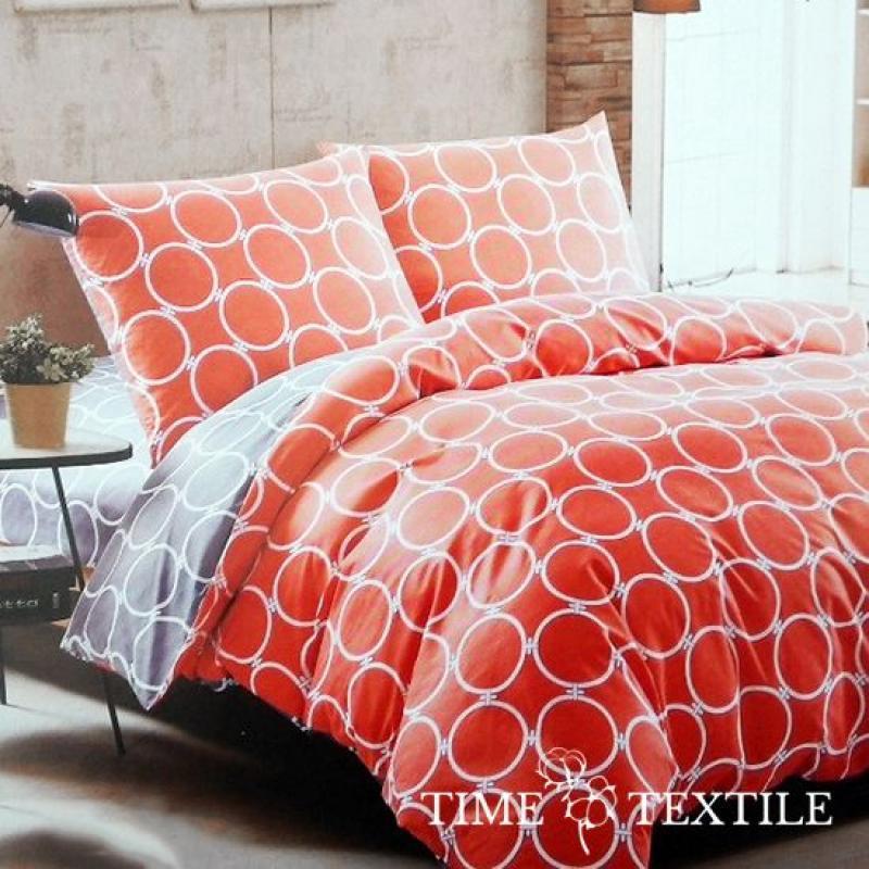 Комплект постельного белья из сатина Pattern Orange
