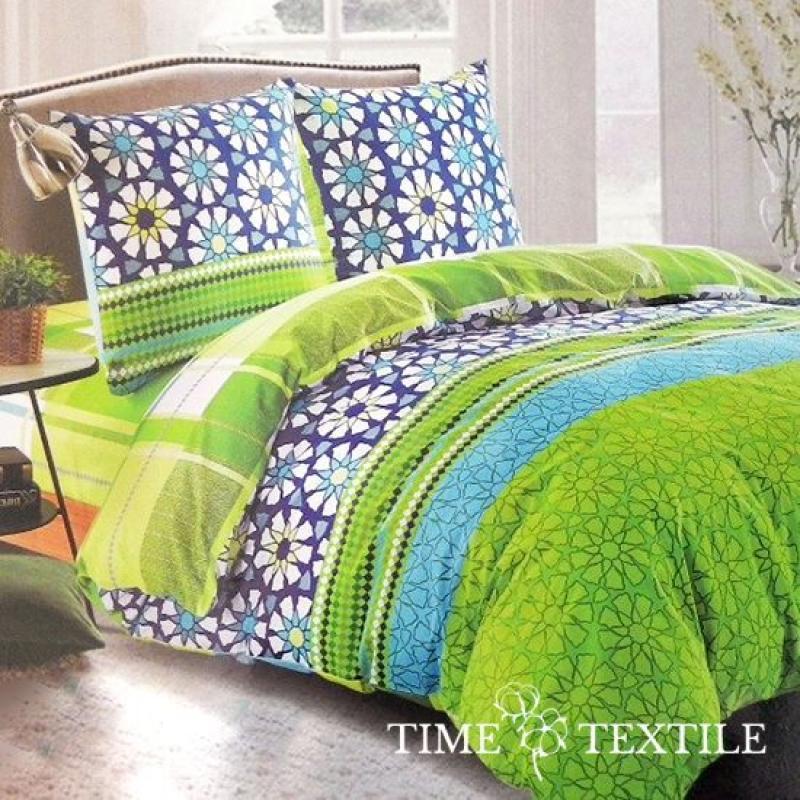 Комплект постельного белья из сатина Summer, фото 1