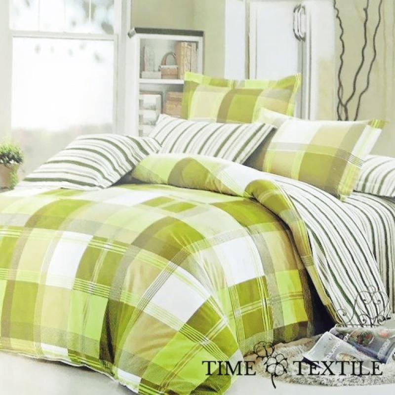 Комплект постельного белья из сатина Green Check