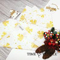 Дорожка на стол (раннер) Time Textile Bells Gold White 40х160 см, фото 1