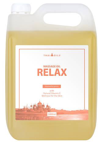 Профессиональное массажное масло «Relax» 5000 ml 7trav, фото 2