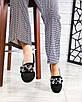 Шикарные женские туфли  лоферы с декором, фото 6