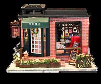 Кукольный домик 3D Румбокс CuteBee DIY DollHouse Книжный Магазин (V359SD)