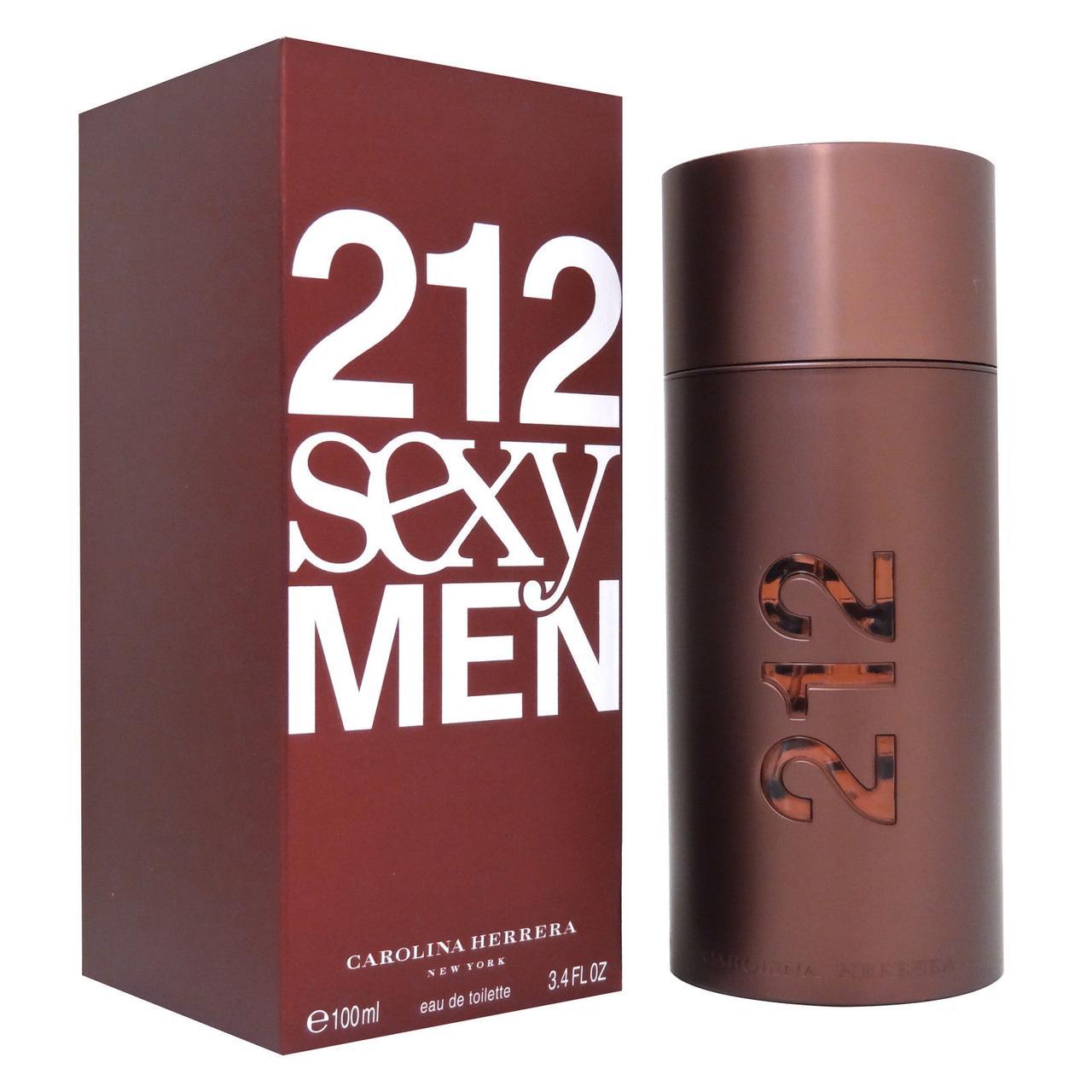 Мужская туалетная вода Carolina Herrera 212 Sexy Men (Каролина Хирерра 212 Секси Мэн) 100 мл|Турция Люкс