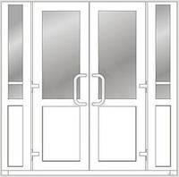 Металлопластиковые двери Steko, фото 1