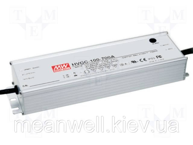 HVGC-100-700A  Блок питания  Mean Well  99,4 вт, 420 ~ 700mA, ІР65