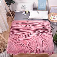 Плед покрывало на кровать Ананас микрофибра, Розовый, 200х220