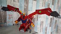 Машинка-трансформер Мекард Мега Дракон Mecard Mega Dracha Figure, Mattel. Оригинал из США, фото 1
