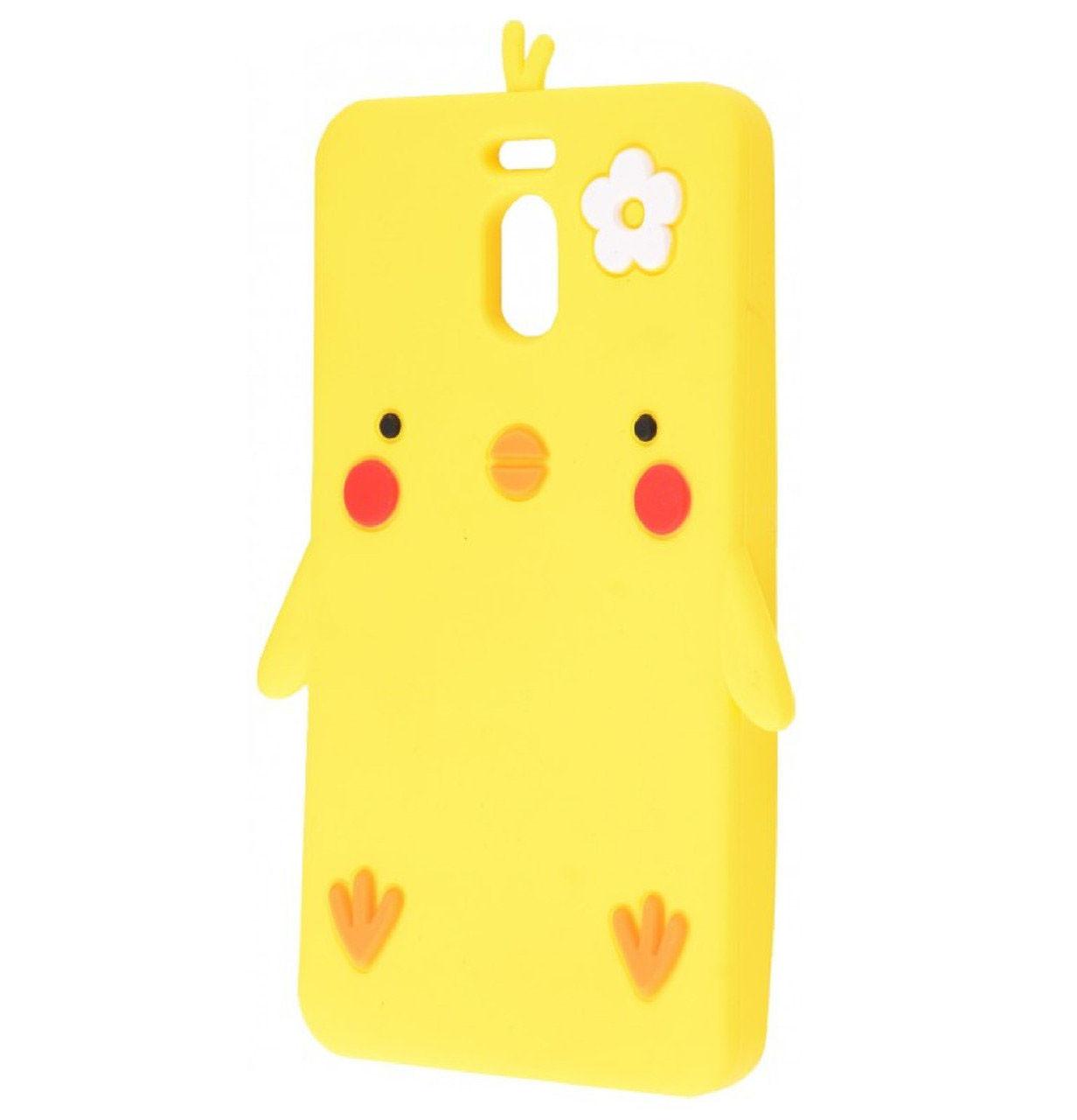 Чехол-накладка TPU Chicken для Meizu M6 Note Yellow
