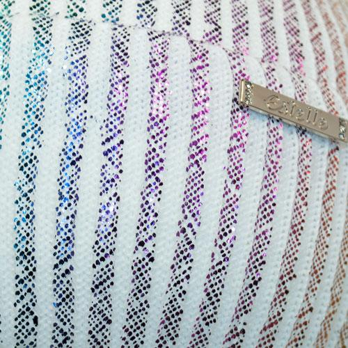 Шапка с напылением и шарфом (хомут)