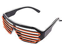Очки для вечеринки Lism светодиодные  Оранжевый