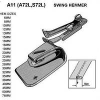 A11 пристосування рубильник для подвійний подгибки