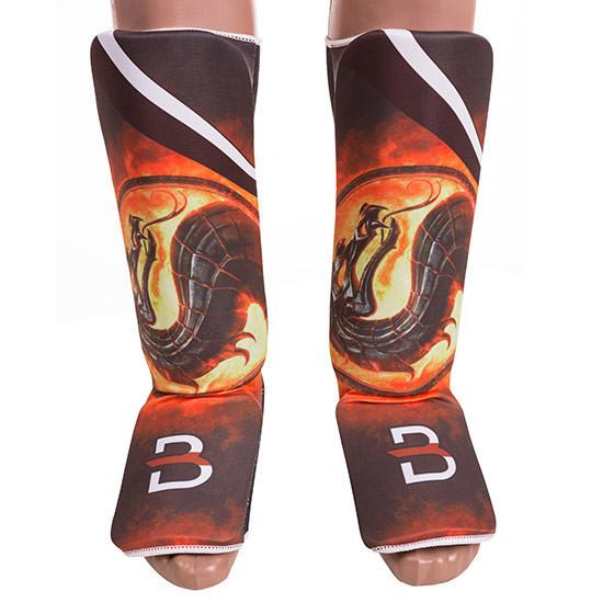 Защита ноги BWS, D Sublimation, дракон, mod 557