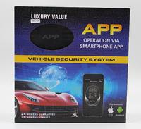 Автосигнализация CAR ALARM 2 WAY KD 3000 APP, фото 1