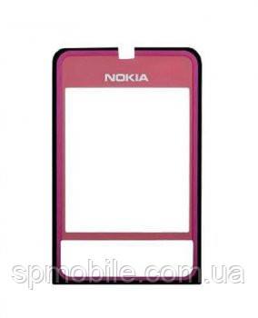 Защитное стекло дисплея Nokia 3250 розовое