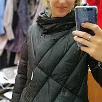 Зимняя куртка/женский пуховик, чёрная и хаки