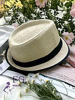 "Женская шляпа челентанка ""Берта"" темно-синий"