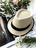 """Женская шляпа челентанка """"Берта"""" черный"""