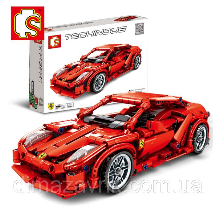 "Конструктор Sembo 701501 (Аналог Lego Technic) ""Ferrari FRR-458"" 603 детали"