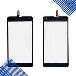 Тачскрин Nokia 535 с ревизией (CT2S1973FPC-A1-E), цвет черный