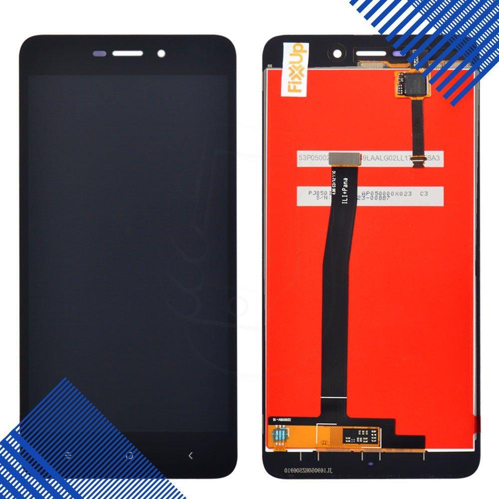 Дисплей (экран) Xiaomi Redmi 4A с тачскрином в сборе, цвет черный