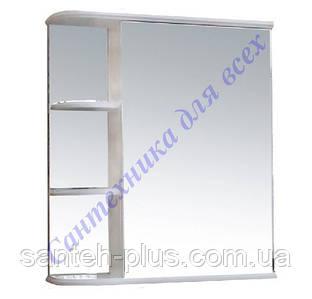 Зеркальный шкафчик с полками Рино-50, левый и правый