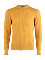 Джемпер мужской вязаный желтый M, Желтый