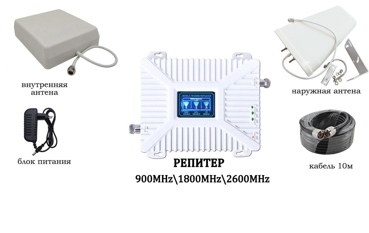 трехдиапазонный усилитель сотовой связи