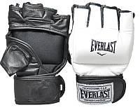 Перчатки Ever для единоборств, ММА, кожа, фото 1