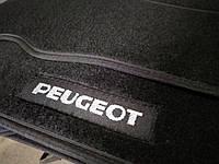 Ворсовые авто коврики в салон PEUGEOT P 607 1999-2010 пежо 607 основа резина