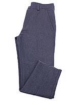 Брюки мужские серые хлопковые Серый, 32L