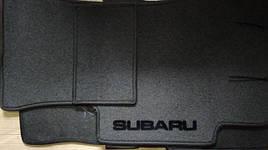 Коврики в салон ворсовые на резиновой основе SUBARU Legacy (2015>)