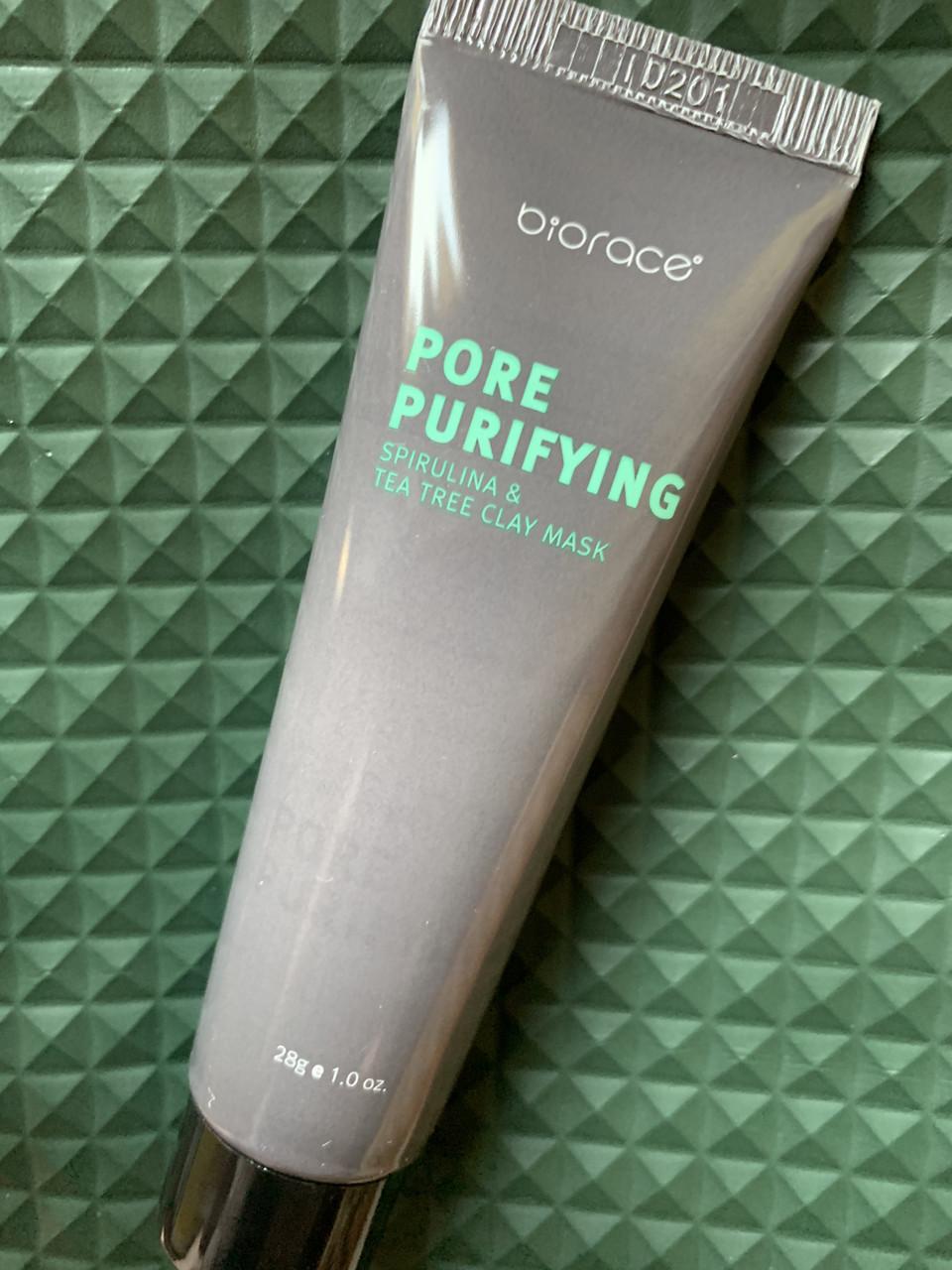 Маска для сужения пор BIORACE Pore-Purifying Clay Mask