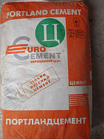 Портландцемент ПЦ ІІ/Б-Ш-400  Евроцемент-Украина, 25 кг